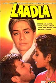 Laadla (1994) Poster - Movie Forum, Cast, Reviews
