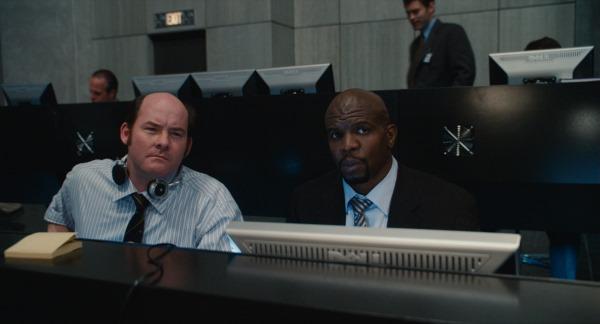 Terry Crews and David Koechner in Get Smart (2008)