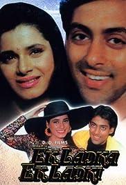 Ek Ladka Ek Ladki(1992) Poster - Movie Forum, Cast, Reviews