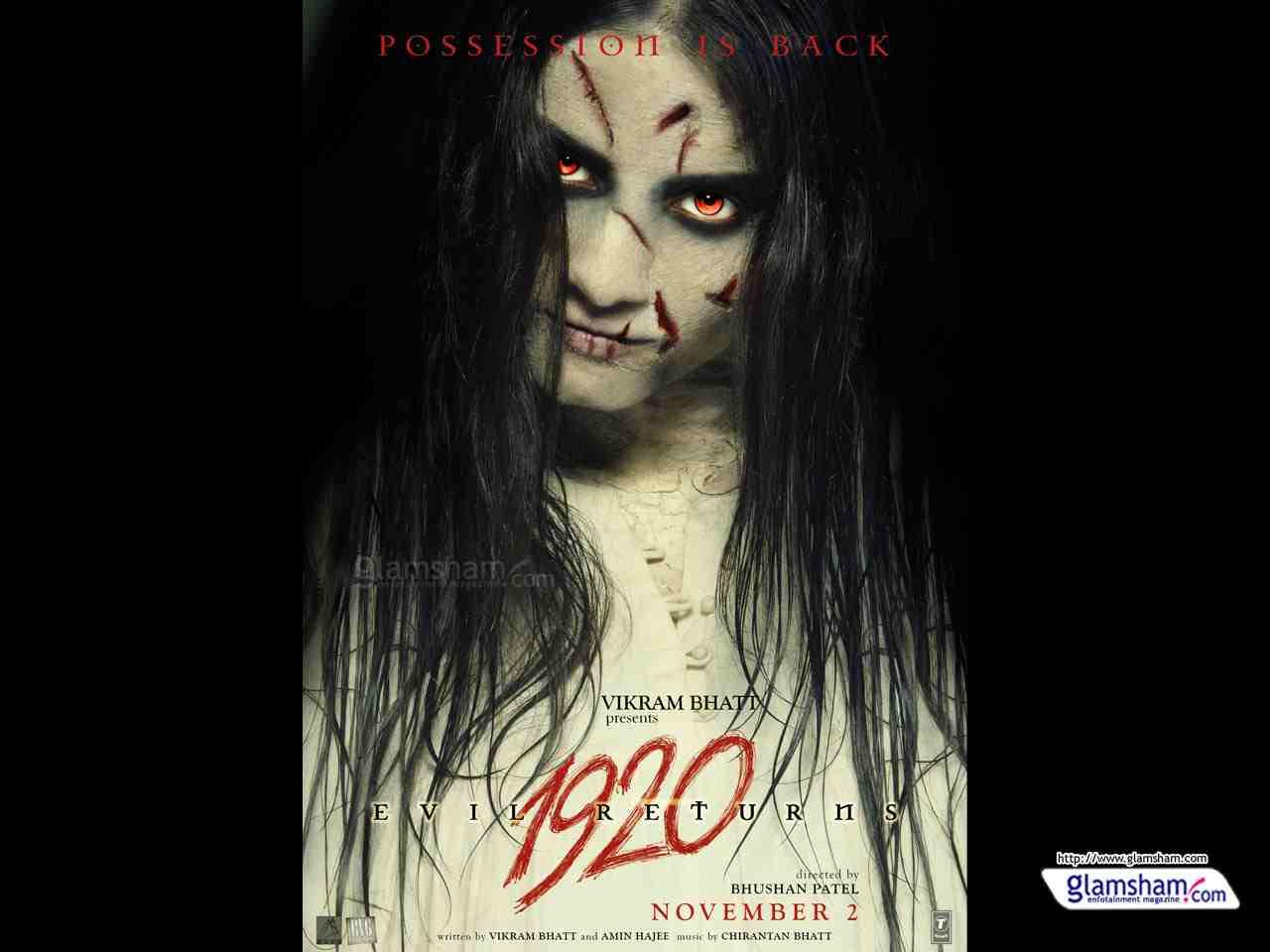1920 Evil Returns 2012 Hindi 720p BluRay 300MB Movies