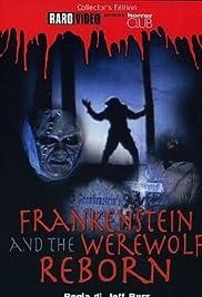 Frankenstein & the Werewolf Reborn! Poster