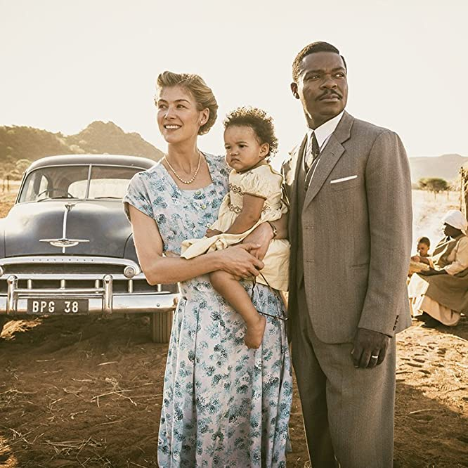 David Oyelowo and Rosamund Pike in A United Kingdom (2016)