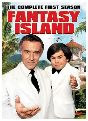 Ricardo Montalban and Hervé Villechaize in Fantasy Island (1977)