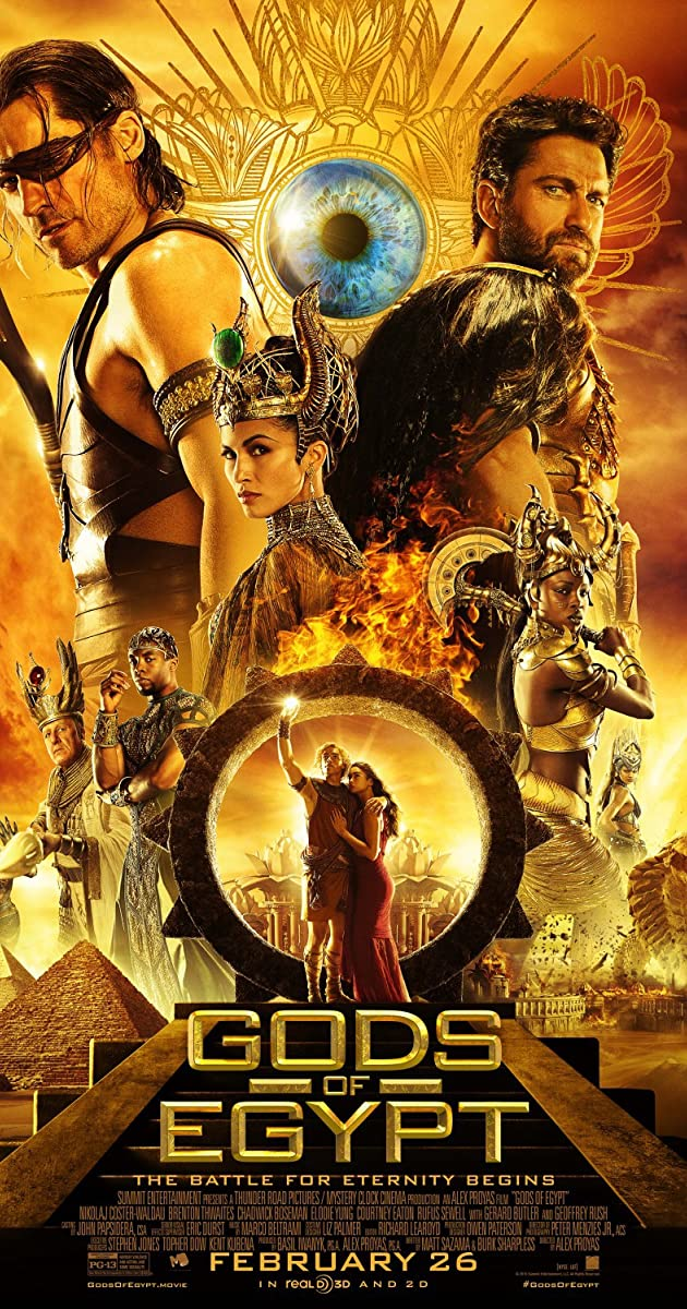 Image result for gods of egypt poster