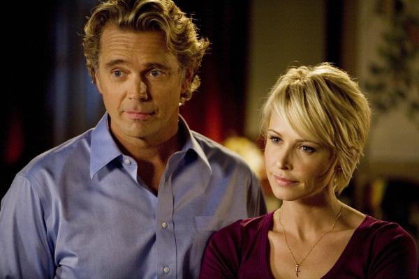 Josie Bissett and John Schneider in The Secret Life of the American Teenager (2008)