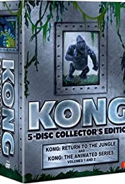 Kong: The Animated Series Poster