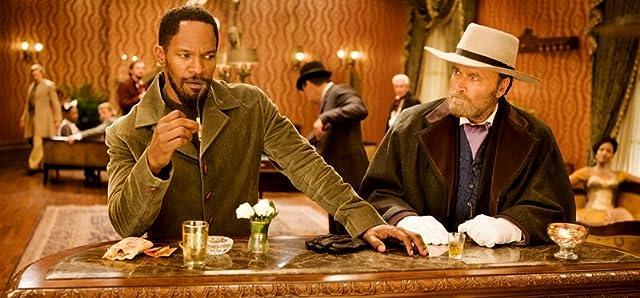 Jamie Foxx and Franco Nero in Django Unchained (2012)
