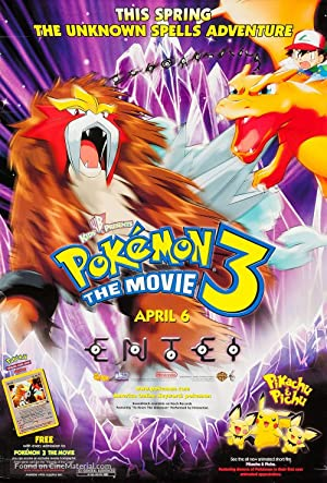ver Pokémon 03: El hechizo de los unown