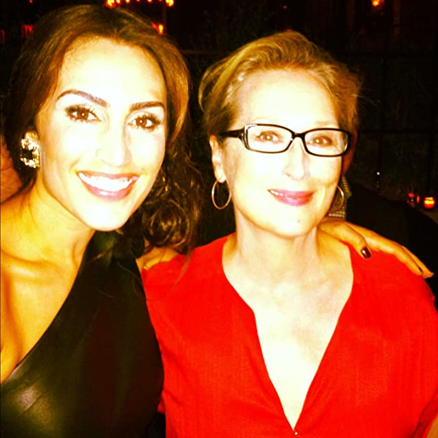 Nicole I Butler and Meryl Streep at the opening premier of Hope Springs in New York City.