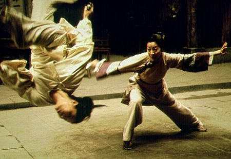 Michelle Yeoh in Crouching Tiger, Hidden Dragon (2000)