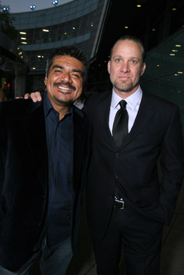 George Lopez and Jesse James at Premonition (2007)