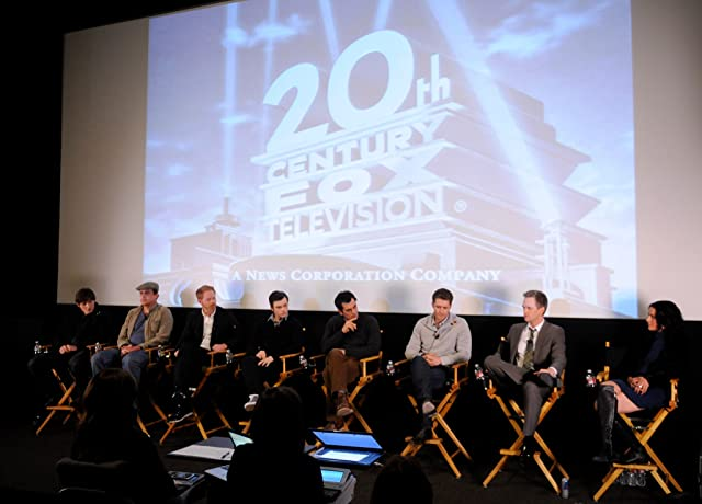Neil Patrick Harris, Ty Burrell, Jesse Tyler Ferguson, Matthew Morrison, Chris Colfer, and Lucas Neff