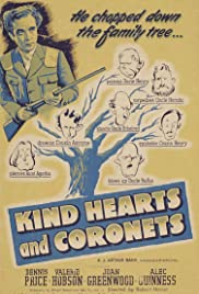 Kind Hearts and Coronets (1949) Poster - Movie Forum, Cast, Reviews