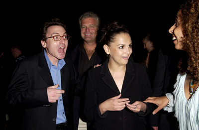 Rachael Leigh Cook, Eugene Musso, and Bart Rosenblatt at Scorched (2003)