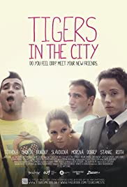 Tigers in the City Poster