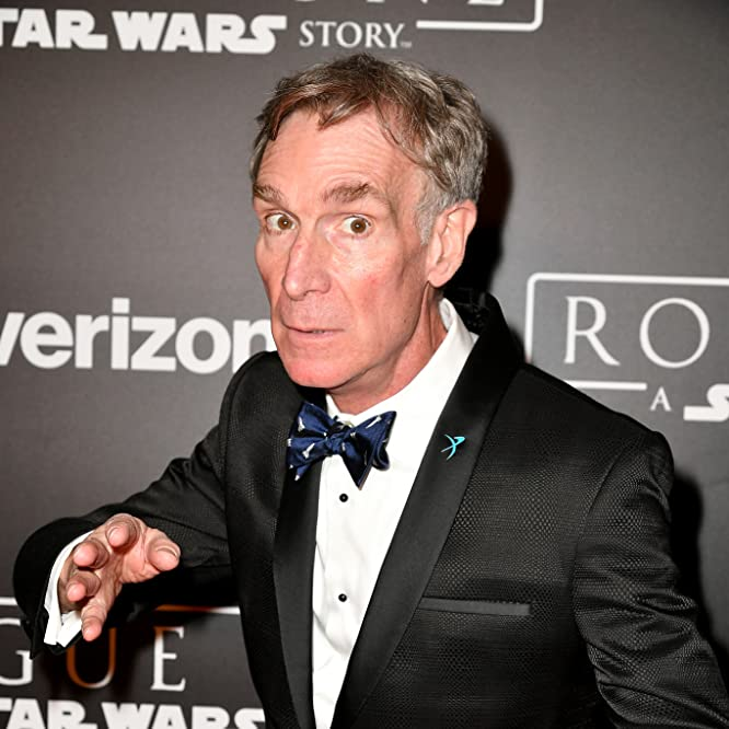 Bill Nye at an event for Rogue One (2016)