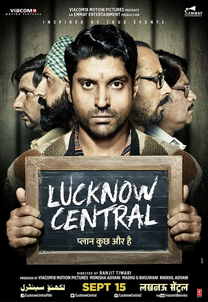 Lucknow Central 2017 Hindi 720p DTHRip full movie watch online freee download at movies365.org