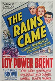The Rains Came (1939) Poster - Movie Forum, Cast, Reviews
