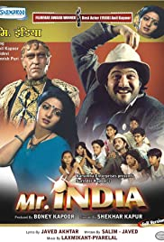 Mr. India (1987) Poster - Movie Forum, Cast, Reviews