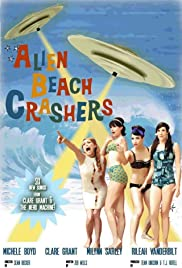 Alien Beach Crashers Poster