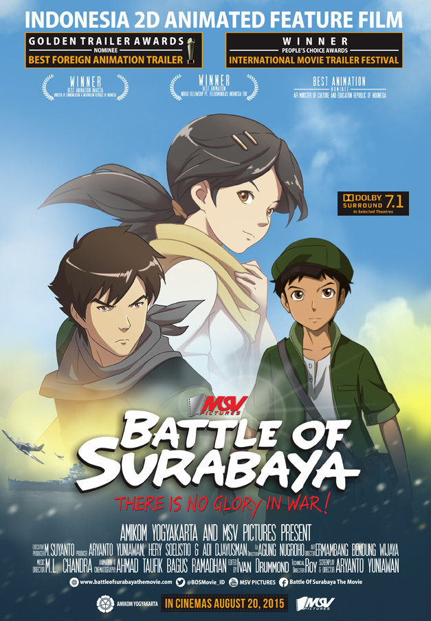 Battle of Surabaya (2015) - animation