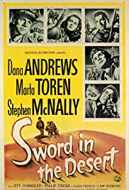 Sword in the Desert (1949) Poster - Movie Forum, Cast, Reviews