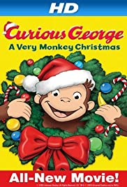 Curious George: A Very Monkey Christmas Poster