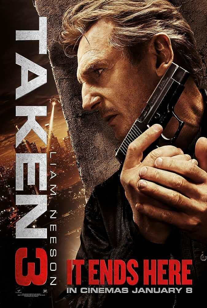 Poster Taken 3 (2014) Full English Movie Download in HD 720p