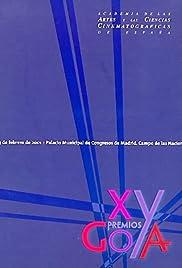 XV premios Goya Poster