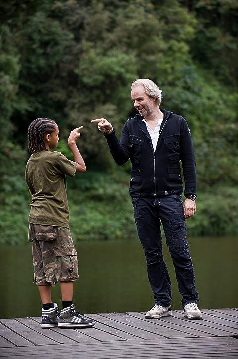 Harald Zwart and Jaden Smith in The Karate Kid (2010)