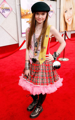 Madeline Carroll at an event for Hannah Montana: The Movie (2009)