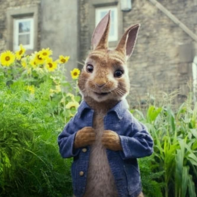 James Corden en Peter Rabbit (2018)