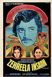 Zehreela Insaan Poster