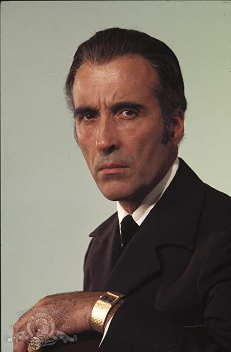 Christopher Lee in The Man with the Golden Gun (1974)