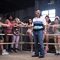 Marc Maron, Sydelle Noel, Kia Stevens, Kate Nash, and Ellen Wong in GLOW (2017)