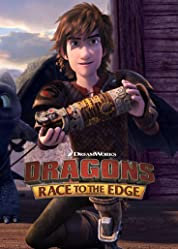 DreamWorks Dragons - Race to the Edge Pt. 4 poster