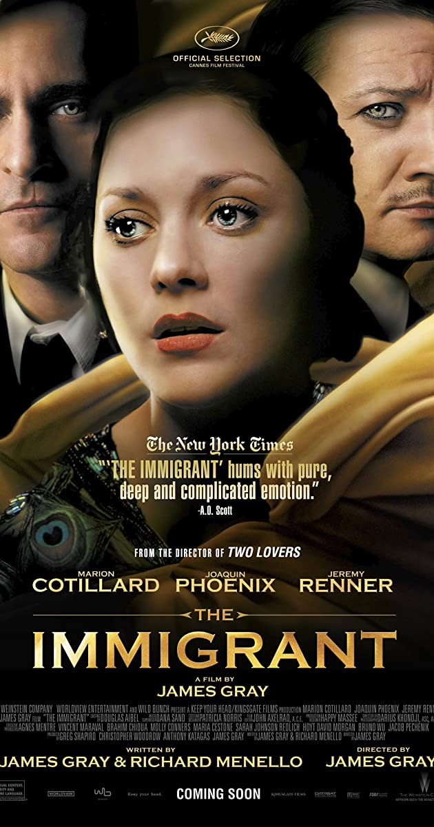 Kartą Niujorke / The Immigrant (2013)	Online