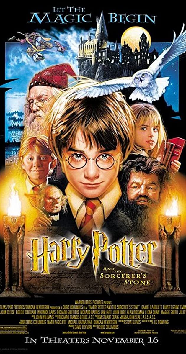 Top Harry Potter and the Sorcerer's Stone (2001) - IMDb JI37