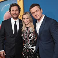 Matthew McConaughey, Reese Witherspoon, and Taron Egerton