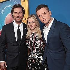 Matthew McConaughey, Reese Witherspoon, and Taron Egerton