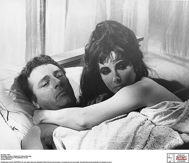 Richard Burton and Elizabeth Taylor in Cleopatra (1963)