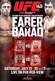 UFC 149 Poster