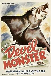 Devil Monster(1946) Poster - Movie Forum, Cast, Reviews