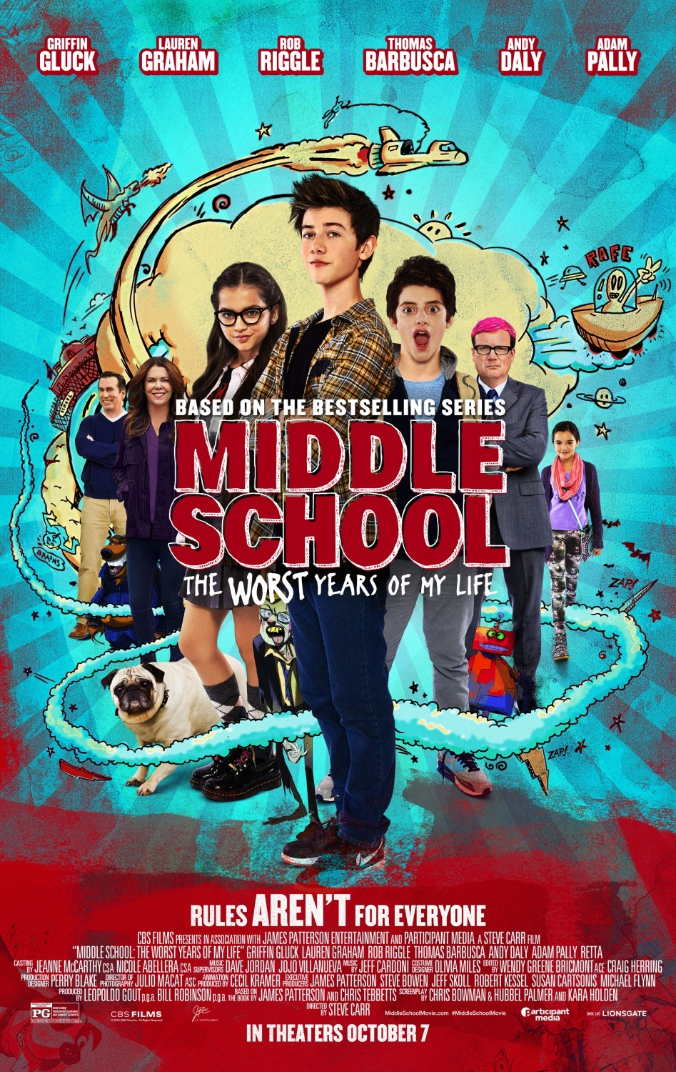 image Middle School: The Worst Years of My Life Watch Full Movie Free Online