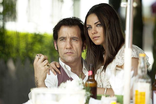 Mila Kunis and Clive Owen in Blood Ties (2013)