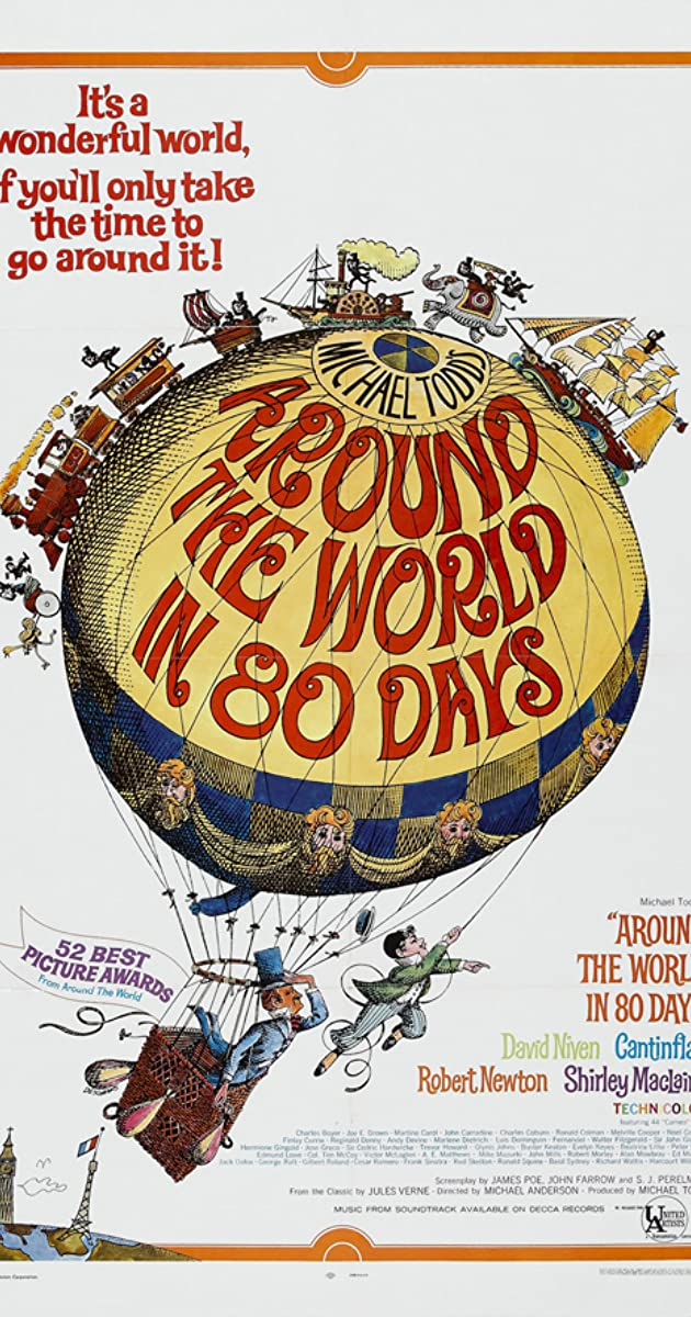 Image result for around the world in 80 days
