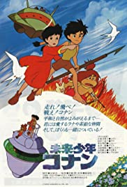 Future Boy Conan Poster
