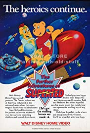 The Further Adventures of SuperTed Poster