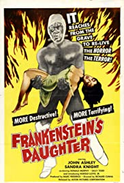 Frankenstein's Daughter (1958) Poster - Movie Forum, Cast, Reviews