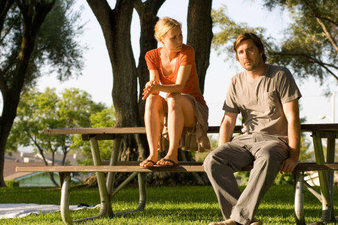 Luke Wilson and Radha Mitchell in Henry Poole Is Here (2008)